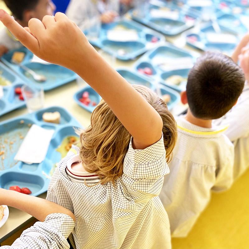 Colegio Hélade · Becas comedor