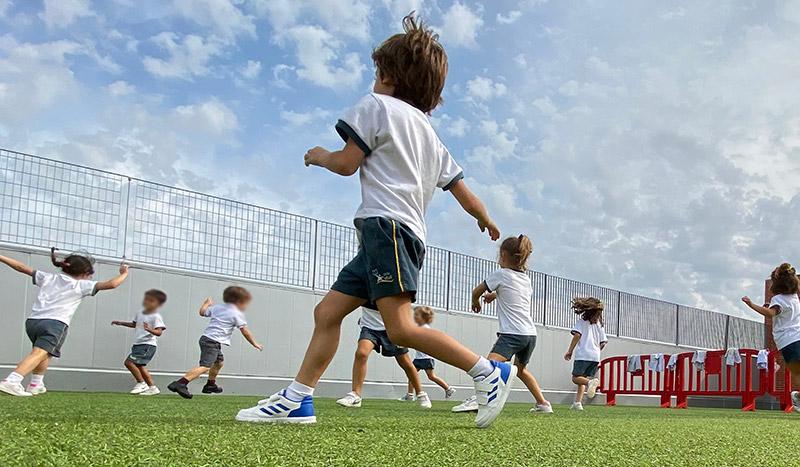 Colegio Hélade · Inicio de las actividades extraescolares